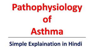 Asthma Pathophysiology Flow Chart Pathophysiology Of Asthma Simple Explaination In Hindi Bhushan Science