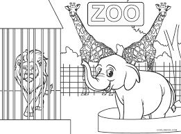 Your kid will enjoy filling colors in this farm scene. Free Printable Zoo Coloring Pages For Kids