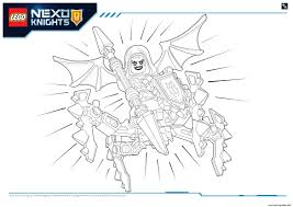 Lego Nexo Knights Monstres Ultimate 2 Coloring Pages Printable