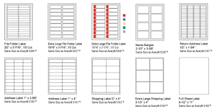 Avery 5395 Template For Word 1 X 2 5 8 Label Template Microsoft Word Avery 5960 Template In Avery