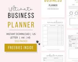 Business Planner Etsy