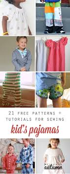 Toddler Pajama Pattern