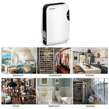 Small Dehumidifier For Bedroom 24l Portable Air Dehumidifier Dryer Damp Mould Moisture Home