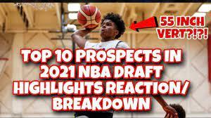 2021 NBA Mock Draft Highlights Reaction ...