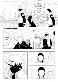Naruto Fan Manga: Kakashi x Mina Gaiden CH.7: Is he very important to you?