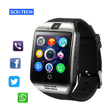 tuoch mobile sceltech smart watch with touch screen camera support tf card