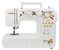 <b>Швейная машина Janome Art</b> Style 4045: купить за 6710 руб ...