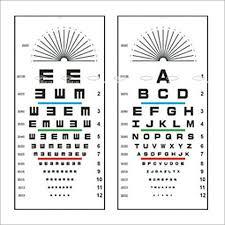 Eye Chart In Delhi Eye Chart Dealers Traders In Delhi Delhi