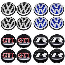 <b>4pcs</b>/set Rline <b>GTI</b> Car Wheel Center Hub Caps Covers for ...