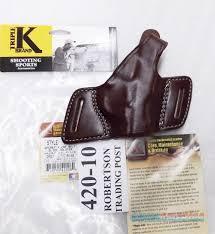 triple k leather holster secret agent 420 10 colt 1911 government hi power star b