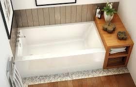 acrylic alcove bathtub x x acrylic alcove bathtub with a tiling 60 x 30 acrylic bathtub