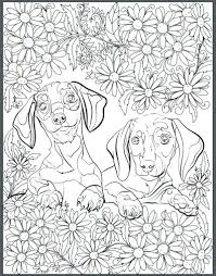 Dog Coloring Sheets For Adults Cute Dogs Coloring Pages Dogs Dog