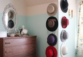 A Conga line to store hats before they dance