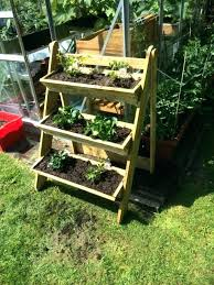 planter stands wood tiered wooden plant stand wooden plant stand 3 tier trough garden strawberry herb