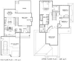2 floor modern house plan design