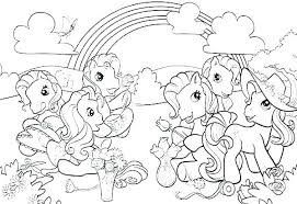 My Little Pony Movie Mermaid Coloring Pages Ponies For Print Best