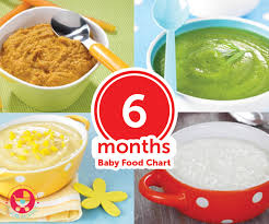 Baby Boy Diet Chart 6 Months Baby Food Chart With Indian Recipes
