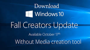 Download Windows 10 Fall Creators Update Iso Without Media
