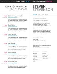 Free Resume Theme Best Of Best Resume Cv Template