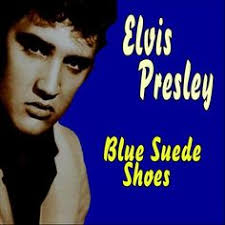 Bildresultat för elvis blue suede shoes