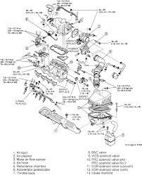 2000 Mazda 626 Transmission Diagram