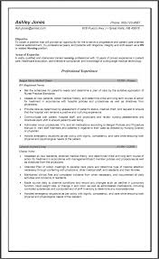 One Page Experienced Nursing Resume Examples And Good Ways Writing  Objective 7 Experienced Nursing Resume Examples ...