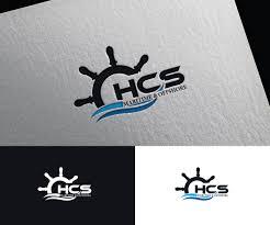 Maritime Logo Design Masculine Bold Marine Logo Design For Hcs Maritime