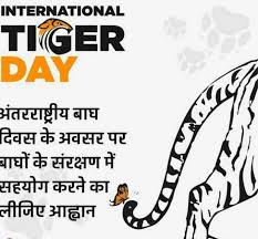 internatiolal tiger day Images ayush raj - ShareChat - India's own Indian  Social Network