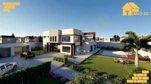 Maison Moderne 3d Ny Trano Nofisiko Plan Maison Moderne Gratuit 3d Pdf  Trano 3d Imaginez Nous Racalisons