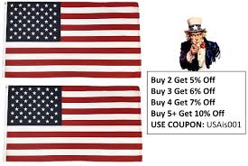 High Supply American Flag Us Flag 100 Made In Usa Flag 3x5 Ft