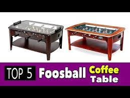 best coffee foosball table you