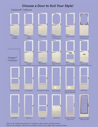 available door styles can be found here