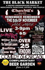 the black market with vendors food art more with the hoy polloy wilder sons the takers leavers sofilla lone wolf treasure tech stage