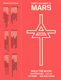 Okc Zoo Amp Seating Chart Thirty Seconds To Mars Add 2018 Tour Dates Ticket Presale