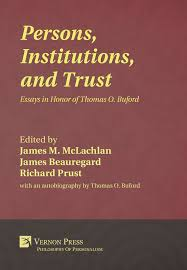 vernon press persons institutions and trust hardback   hq cover