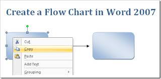 Create A Flow Chart In Word 2007