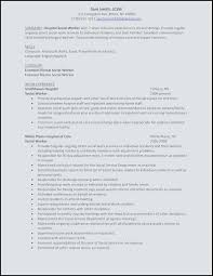 Examples Of Social Work Resumes Resume And Cover Letter Worker