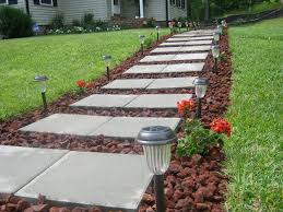 Defined Walkway | DIY Front Yard Makeover Ideas You'll Love