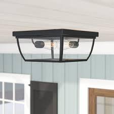 outdoor ceiling lights. Silver Gulch 2-Light Flush Mount Outdoor Ceiling Lights