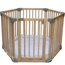 play pens clippasafe natural wood baby play pen stair gate room