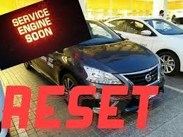 How to reset Service Engine soon Light on a 2007 Nissan Sentra ...