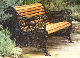 cast iron garden bench. High Victorian Squirrel Design Cast Iron Park Or Garden Bench, Originally Produced By The Sun Foundry, Glasgow And Now Available From Lost Art Limited. Bench