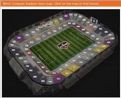Bbva Compass Stadium Houston Seating Chart Houston Sports Fans Its Time To Check Out The Dynamo And
