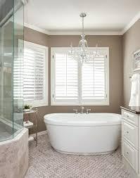 chandelier over bathtub freestanding soaking tub with lighting above in greenwood village crystal chandelier over bathtub