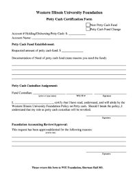 Editable Petty Cash Request Letter Fill Out Print Download
