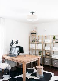 work desk ideas white office. Gorgeous Workspace Design | Pretty Desk Simple, Minimal Home Office Work Ideas White H