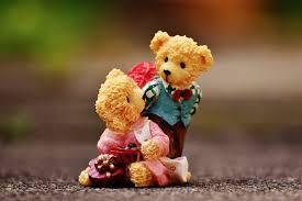 flower cute bear love decoration autumn toy celebrate deco teddy bear funny figures greeting card