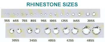 Rhinestone Sizing