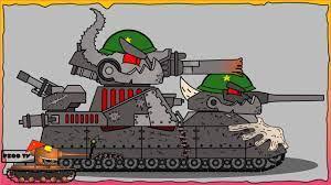 Cách vẽ Đấu sĩ chiến đấu Leviathan + РАТТЕ Ratte   Phim hoạt hình về xe tăng