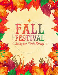 Fall Flyer Fall Festival Autumn Leaves Church Flyer Template Template